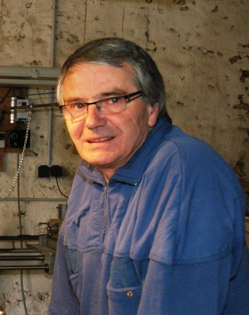Jean-Claude Charpignon, tourneur sur bois